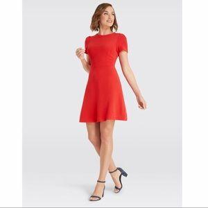 NWT Draper James Knit Sailor Button Dress Size M